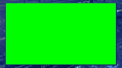 Free Green Screen Backgrounds Green Screen News Overlay 2 Free Creative Commons Motion