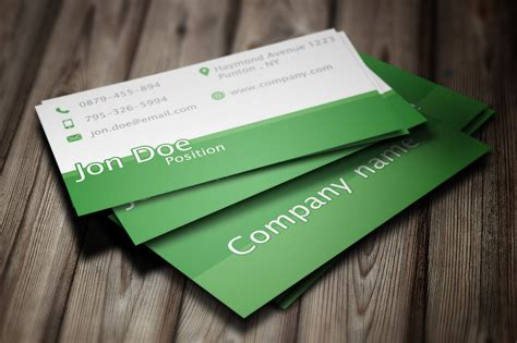 Elegant Green Business Card Psd Template By Borcemarkoski Ns Business Card Inlogge Visiting Models For Computer Sales And Services Reading Machine Printing Olx Photo Meaning Patrick Bateman Meme Apec Travel Malaysia Form Barclaycard