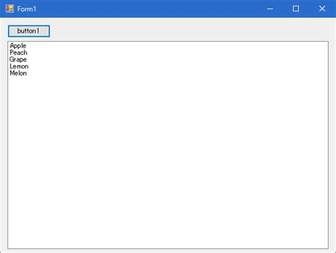 C# list 初期 化