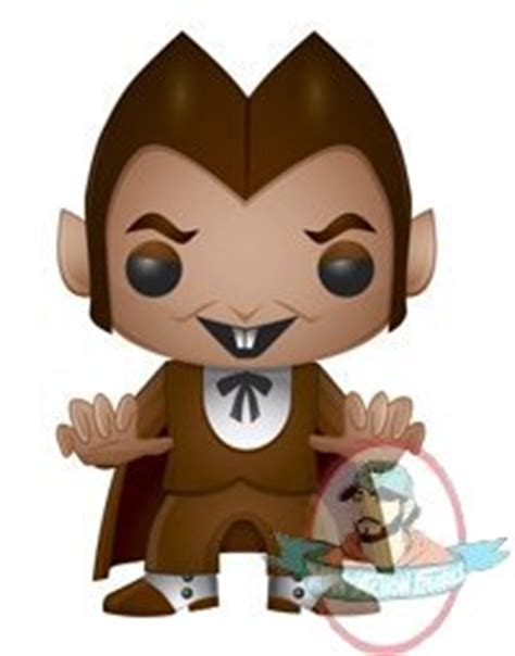 pop ad icons count chocula  funko man  action figures