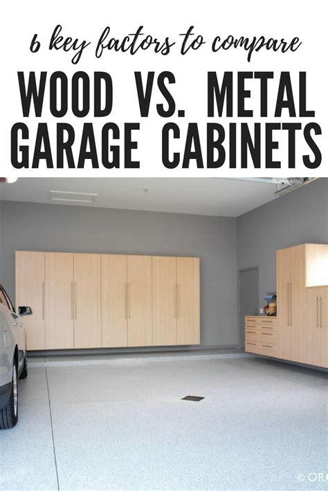 metal garage cabinets ideas  pinterest