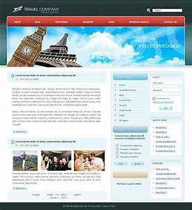 travel website template 25 designs to download With cool dreamweaver templates