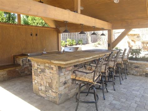 Kitchen Bar Grill by Outdoor Kitchen Bar And Grill Traditional Patio