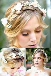 A Romantic Bohemian Wedding Hairstyle - Weddbook