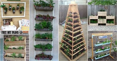 Vertical Garden Diy Ideas by 20 Diy Vertical Gardens That Give You In Small Spaces