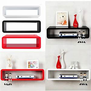 Details about Floating MFD Wall Mount Shelf Cube Skybox ...