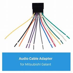 High Quality Audio Cable Wiring Harness Plug Adapter For