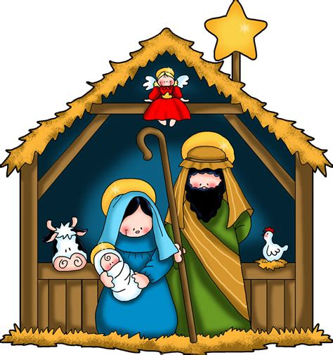 Nativity Clip Nativity Clipart Clipart Best