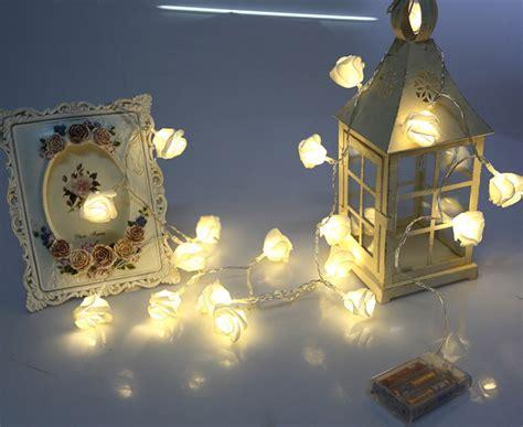 Buy 10 Lights Rose Flower String Led Fairy Lights Wedding