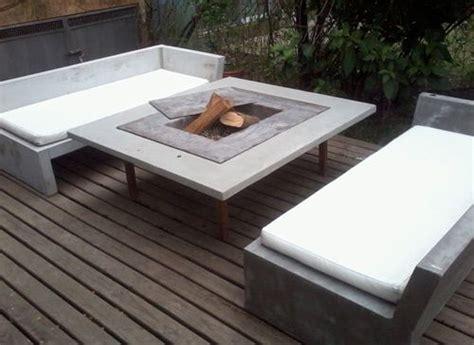 muebles hechos de hormigon ideas finca en  muebles