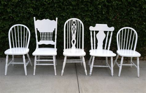 white painted wood chairs the best wood furniture