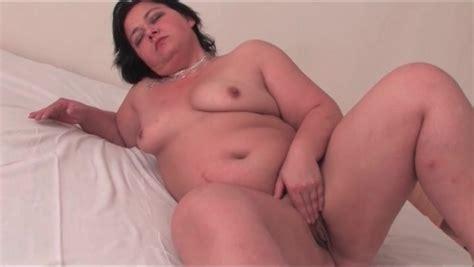 Fat Mature Girl Masturbates Solo In Bedroom BBW Porn