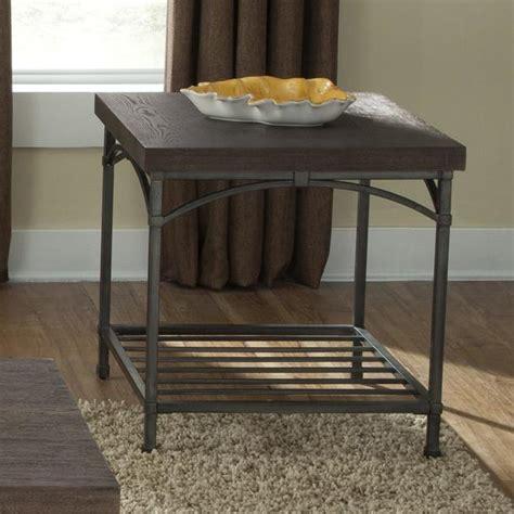 liberty furniture franklin  table  metal base