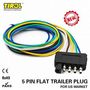 Five Wire Trailer Plug
