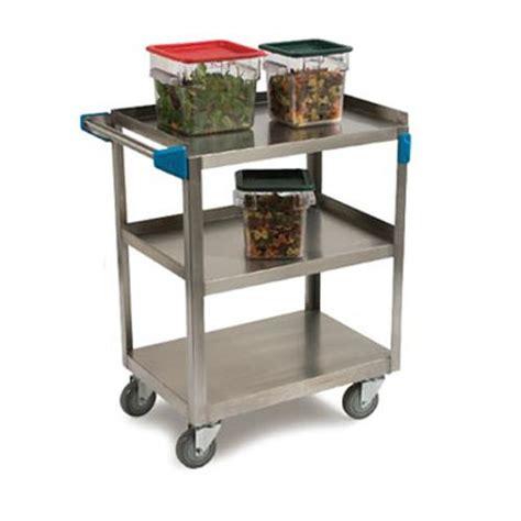 kitchen utility cart carlisle uc7032133 stainless steel utility cart etundra