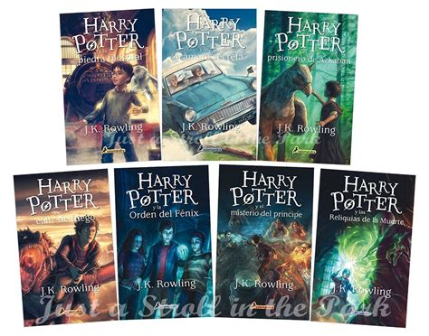 Harry Potter Complete Collection [spanish Edition] Books 1
