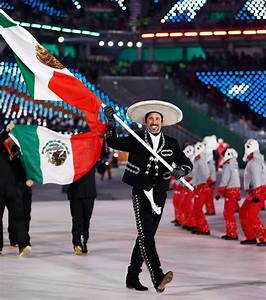 Competitors for Mexico and Puerto Rico in the 2018 Winter ...