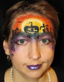 Halloween Pumpkin Face Painting Ideas