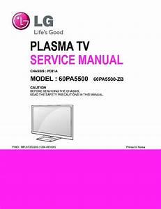 Lg 60pa5500 60pa5500 Zh Plasma Tv Service Manual