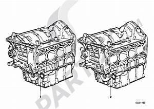 Short Enginecrank Case With Pistons Bmw K1200lt 1999