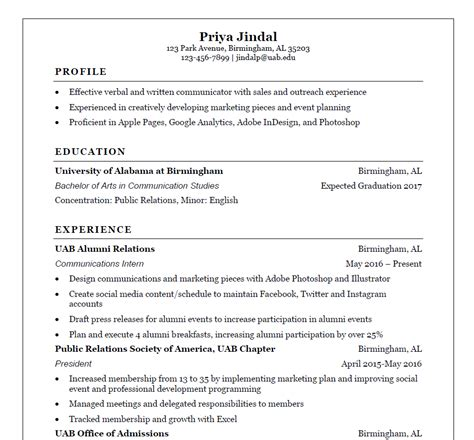 resume exle college dropout sle resume college