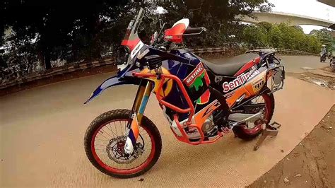 Honda Crf250rally Modification by Crf 250 Rally Modification By Syndicate Motor