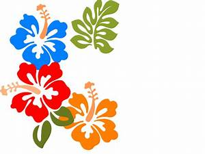 Tropical Flower Clipart - Cliparts.co