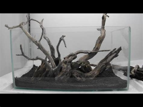 Aquascape Wood by Aquascape Using Manzy Wood And Rock