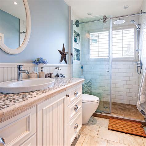 salle de bain au look ch 234 tre bord de mer salle de bain avant apr 232 s d 233 coration et