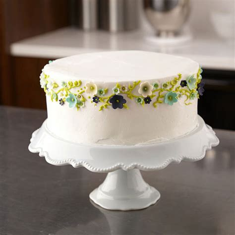 fondant flowers cake wilton party flower decorating icing simple shaped wlproj