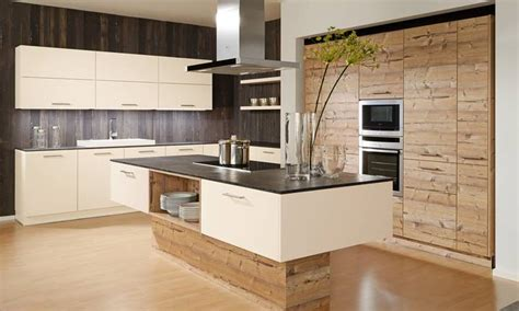 cuisine beige awesome cuisine beige et bois contemporary design trends