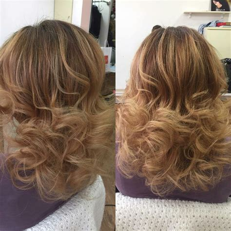 Curling Hairstyles For Medium Hair by How To Curl Layered Hair Uphairstyle