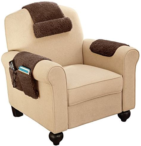 Armchair Cover Set by Sherpa Fleece Armchair Cover Set Of 3 Brown Buy