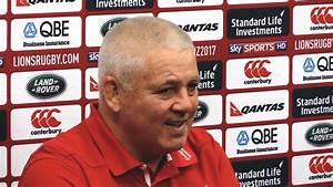 Warren Gatland Full Pre-Match Press Conference - New ...