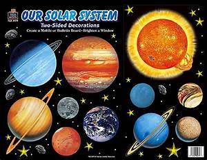 Solar System 2-Sided Decorations - TCR4979 « Products ...