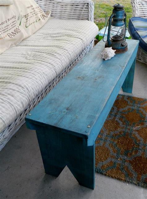primitive wood bench  grandaddyswoodmill  etsy