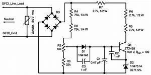 adjustable line voltage limiter uses ground fault circuit With ground fault circuit interrupter wiring