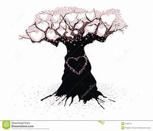 Baum Der Liebe : alter baum der liebe vektor abbildung bild von abbildung 7544172 ~ Eleganceandgraceweddings.com Haus und Dekorationen
