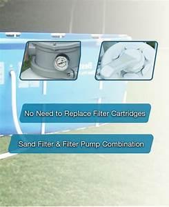 Bestway 2000gph Sand Filter Pump 58315 For Above Ground