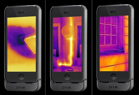 iphone flir this new iphone adds thermal imaging to your phone