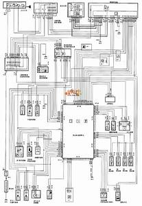 Dongfeng Citroen Picasso 2 0l  Saloon Car Fuel Injector And Circuit Diagram World