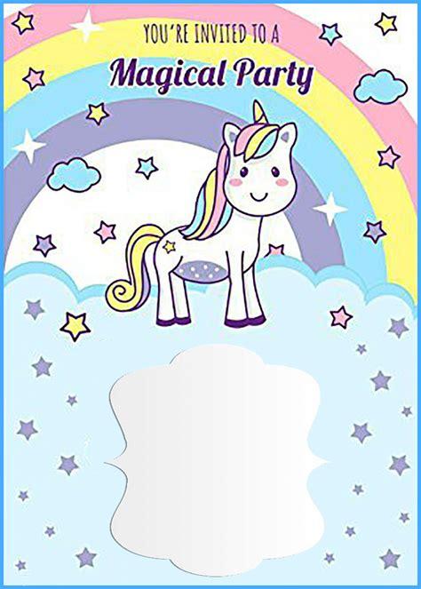 unicorn birthday invitations template unicorn free printable birthday invitation template invitations