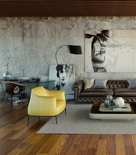 Home Designing (via Awesomely Stylish Urban Living Rooms)