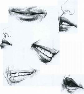 The Mouth - Drawing Faces and Figures - Joshua Nava Arts