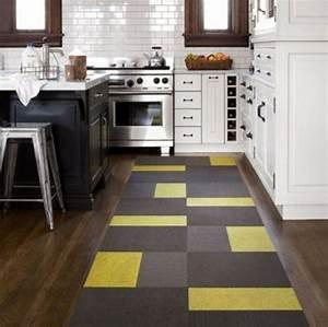 Tapis De Cuisine Moderne : tapis moderne pour la petite cuisine une excellente id e ~ Teatrodelosmanantiales.com Idées de Décoration