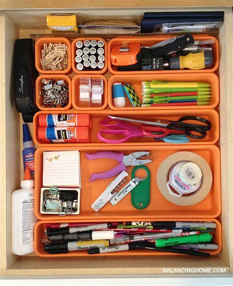 organize junk drawer kitchen organizing the junk drawer balancing home 3777