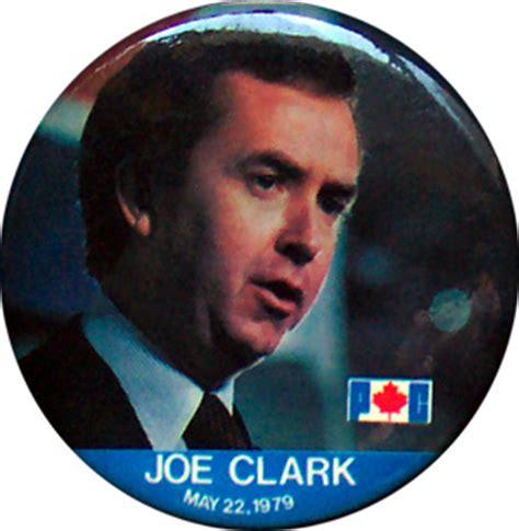 politics canada rt hon joe clark prime minister