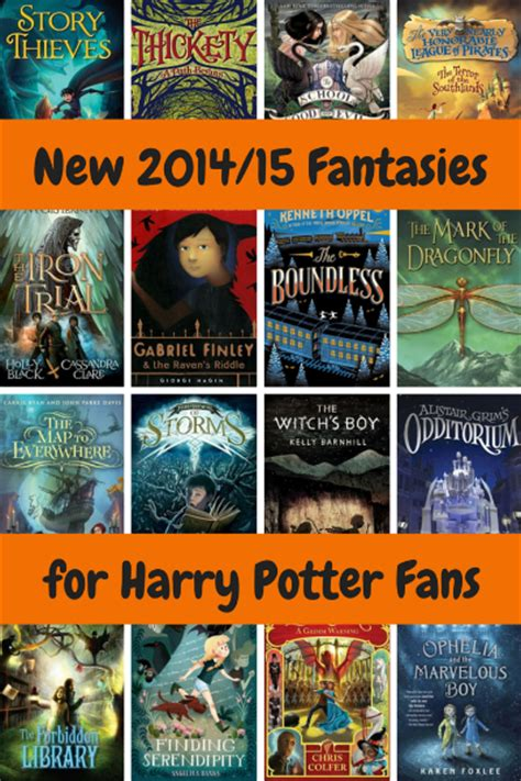 Kids' Fantasy Chapter Books For Harry Potter Fans New In