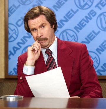 Ron Burgundy Scotch Meme - will ferrell to return for anchorman 2 deadline
