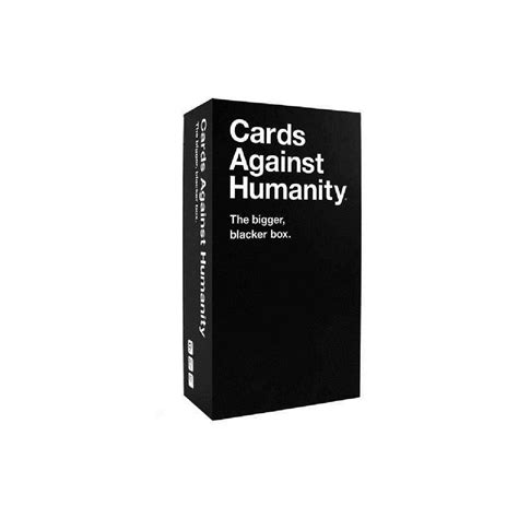 We did not find results for: Cards Against Humanity Bigger Blacker Box | BIG W